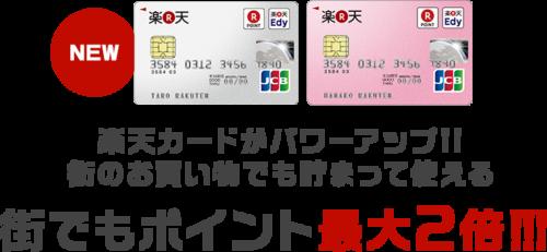 楽天カードのブランドを変更するやり方は?好きなブランド、デザインへ変更する方法