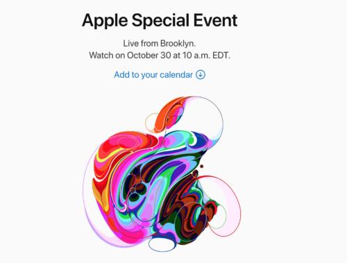 Apple Special Eventが2018年10月30日に開催!新型iPadやMacbookが発表か?