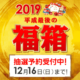 2018年最後の運試し!ビックカメラ.comの平成最後の福箱!2019年元旦に商品が届きます!
